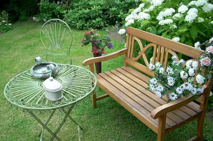 bancos jardin ikea